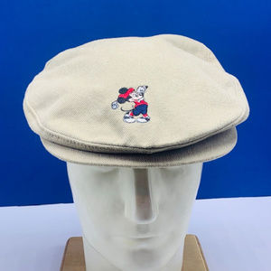 Mickey mouse newsboy golf hat cap Disney world Pro